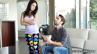 Megan Squirt & Logan upon Step-Siblings Initiative With the addition of Be captivated by - BrutalX